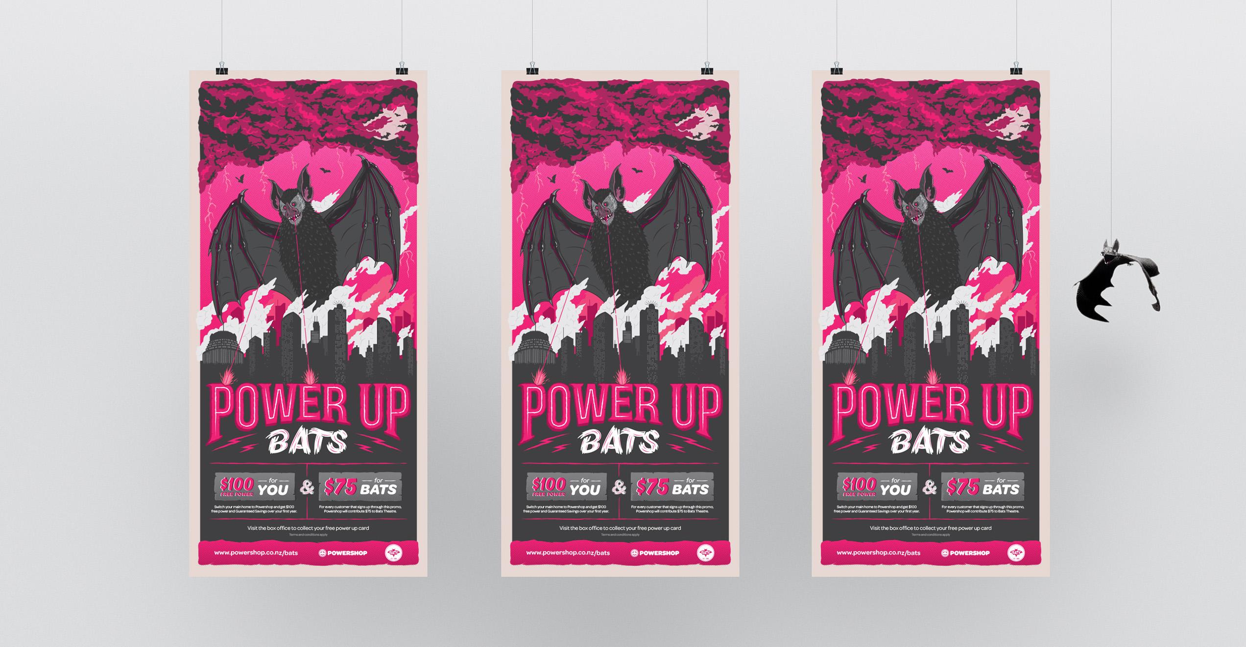 Power Up Bats Campaign