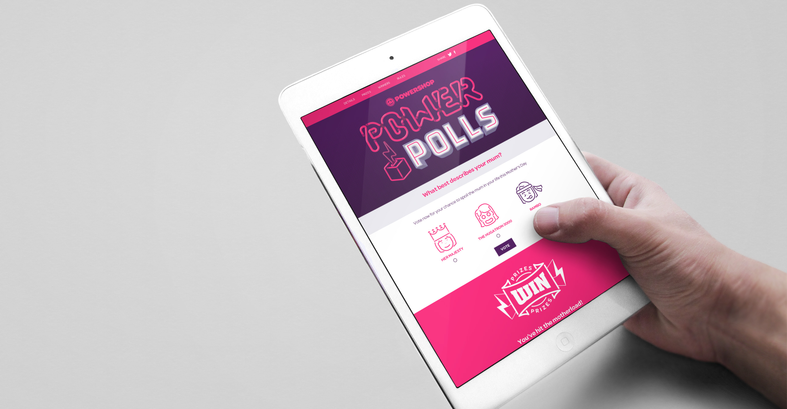 Powershop Power Polls Campaign