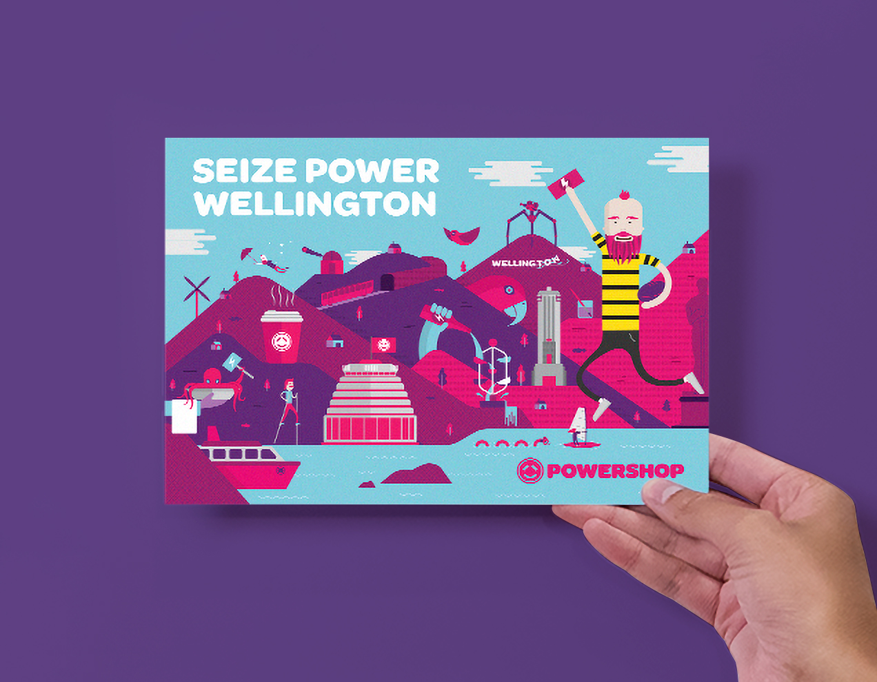 Marketing Campaign, Print and Illustration