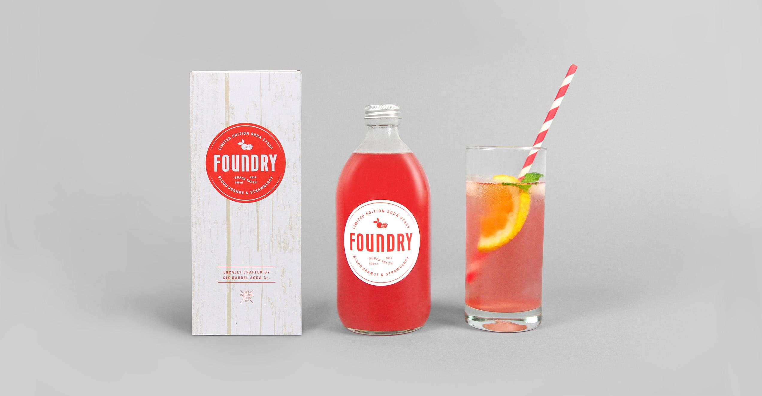 Foundry Soda Syrup