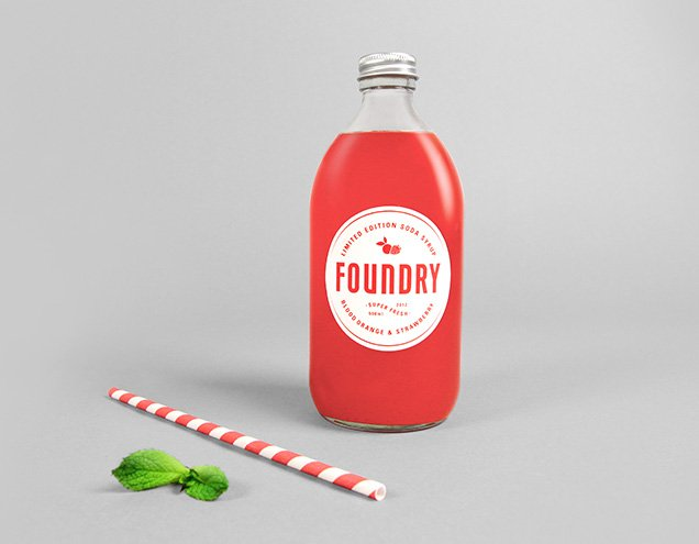 Foundry Soda Syrup